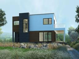 Строительство энергоэффективных домов из СИП панелей Сервус