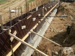 Строительство фундамента под забор в Севастополе