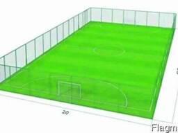 Строительство футбольной спортивной площадки