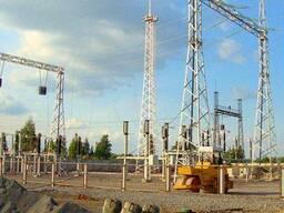 Строительство и реконструкция электрических подстанций