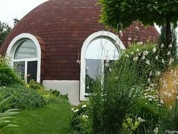Строительство купольного дома-сферы от компании Гинко