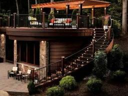 Строительство летних площадок для ресторанов и кафе.