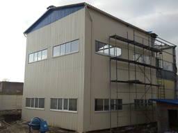 Строительство производственно-складских помещения, БМЗ