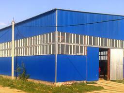 Строительство зернохранилищ, склада, ангара фермы