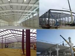 Строительство складов, строительство ангаров Киев.