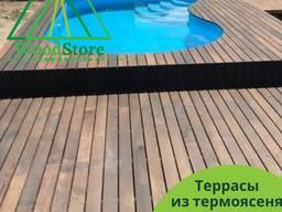 Строительство террасы из термоясеня под ключ от производител