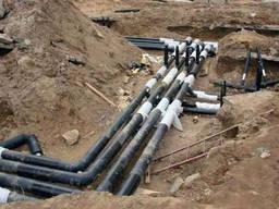 Строительство Водопровода. ГНБ бурение. Прокол грунта