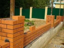 Строительство заборов, домов, гаражей Одесса