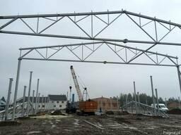 Строительство завода по обработке древесины.