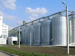Строительство зернохранилищ, склада, ангара