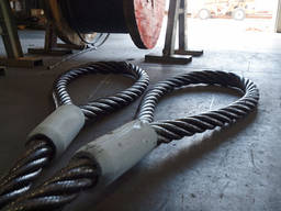 Строп канатный петлевой СКП (УСК) втулка\заплетка 2 тонны