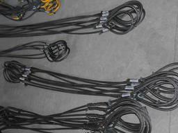 Стропы стальные канатные петлевые чалки от 0, 63 тонн