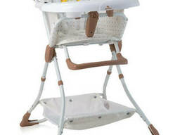 Стульчик для кормления Lorelli Bonbon beige&white. ..
