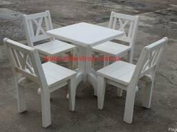 Стулья, столы из дерева