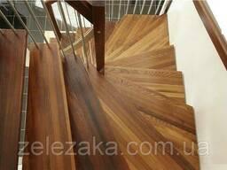 Ступени деревянные термограб (40мм), 1 сорт, доставка по. . .