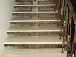Ступени мрамор Мраморная лестница Лестница из мрамора
