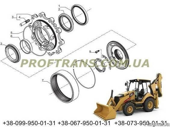 Ступица Caterpillar 424 сателлит ступицы, бортовой редуктор