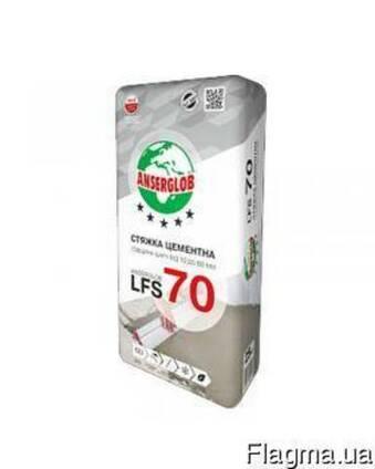 """Стяжка цементная (10-60 мм) """"LFS-70"""" """"Anserglob"""" 25 кг"""