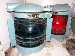 Судовые фонари, электрооборудование