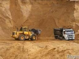 Суглинок строительный для подсыпки территории