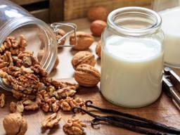 Сухое молоко из грецких орехов веганское