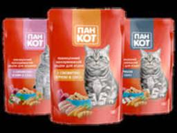 Сухой корм для кошек Пан Кот