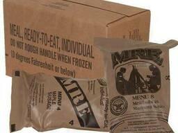 Сухой паёк американский MRE ( США ) за 12 штук, коробка.