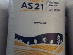Сульфат аммония NS 17, 2:24 гранулированный Grupa Azoty , По