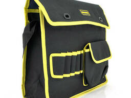 Сумка для монтажных инструментов, черная с желтой вставкой
