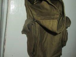 Сумка господарська брезентова 12х10х25 см з ремінцем