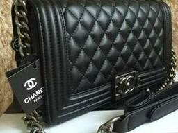 Сумка , Клатч реплика Chanel Le Boy 30см в цвете черный