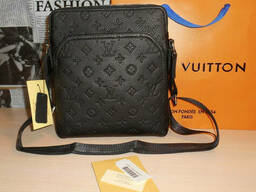 Сумка мужская планшетка Louis Vuitton кожа, Франция