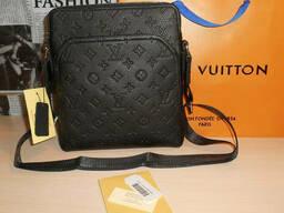 Сумка мужская планшетка Louis Vuitton кожа, Франция - фото 2