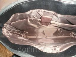 Сумка-портфель мужская Armani, кожа, Италия - фото 5