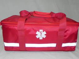 Сумка укладка скорой помощи и МЧС Красная