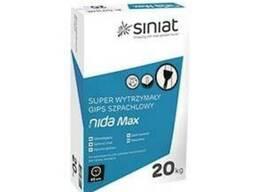 Супер стійка шпаклівка для швів ГКП NIDA MAX (Унифлот)