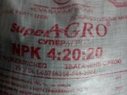 Суперагро NPK4:20:20 S Ca