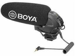 Суперкардиодный конденсаторный микрофон-пушка с. ..