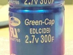 Суперконденсатор ( Ионистор ) 300F 2, 7V Samwha - 10$/шт