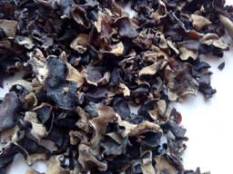 Сушений гриб муер (черный древесный гриб), кусочек 3*5