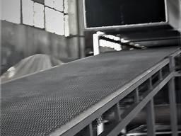 Сушилка конвейерная для брикетов, строй. материалов, кормов.