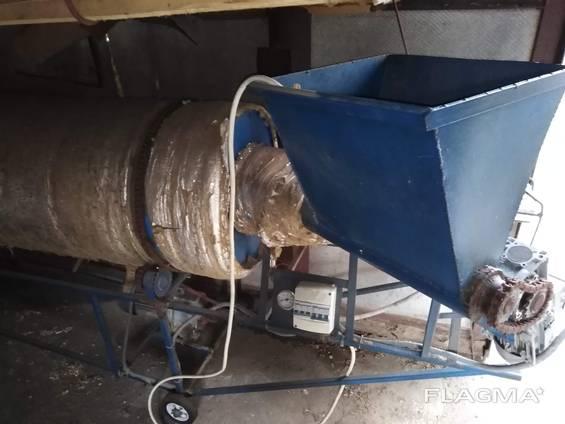 Сушильная камера для сыпучих материалов.