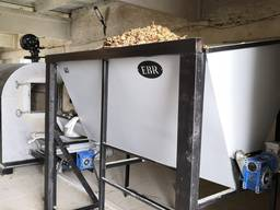 Бункер топлива (щепа, гранула) 0,8-1,4 м3