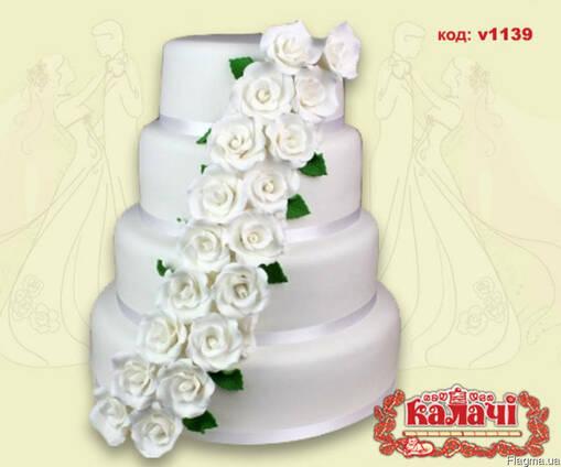Свадебный торт Чернигов, торты свадьба Чернигов