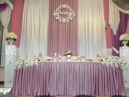 Свадебные ажурные колоны