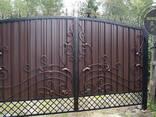 Двери, решетки, навесы, козырьки, ворота, калитки - фото 3