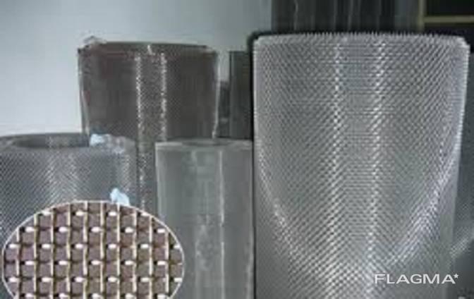 Сетка тканая нержавеющая Aisi 304 1,0-0,4 ГОСТ 3826-82