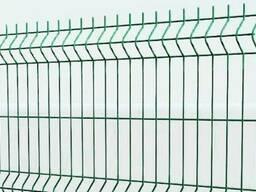Сварная сетка 3D 50х200x4 размер листа 1, 7 х2, 5м для забора