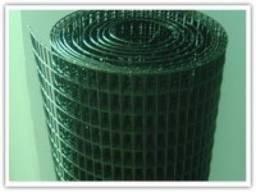 Сварная сетка в рулонах Классик 1.5м высотой с ПВХ покрытием