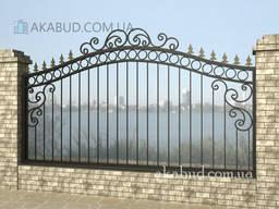 Сварной забор Л11. Забор из металла. Установка, доставка